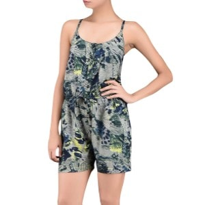 Grey Printed Rompers