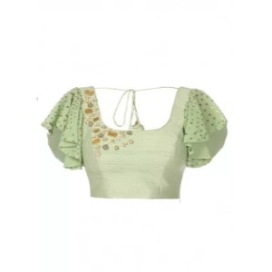 Hand Embroidered Silk Blouse